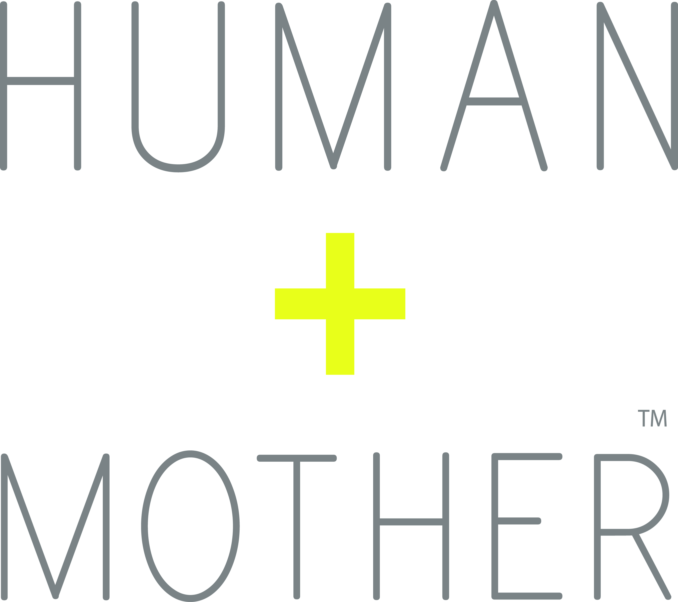 Human Mother Logo SQ CMYK 2