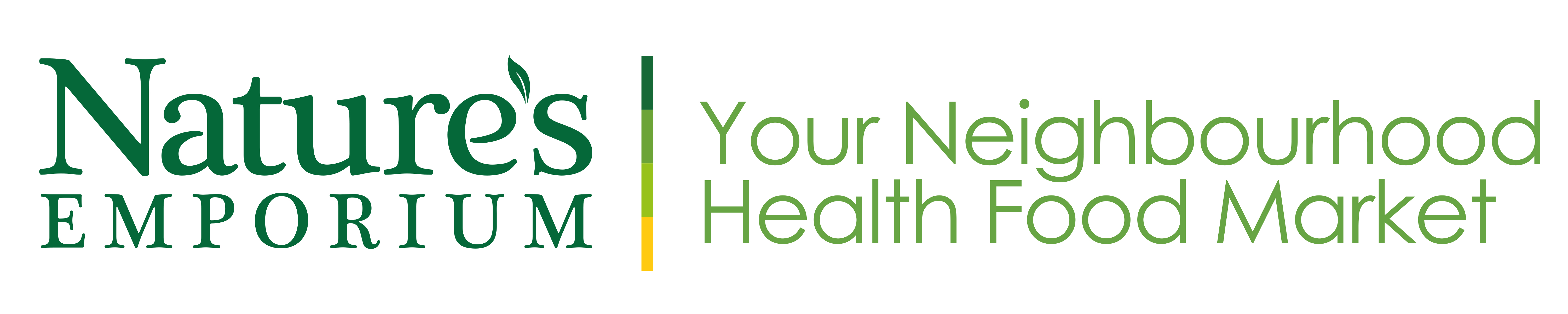 Natures Emporium Your Neighbourhood Health Food Market Logo 2013 high res