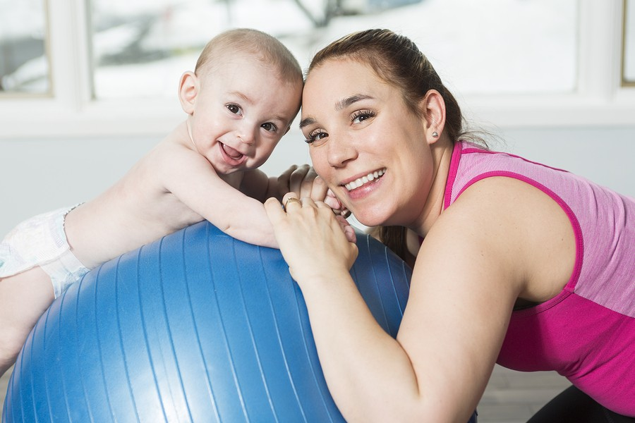 Getting Active Again, The Healthy Moms Way