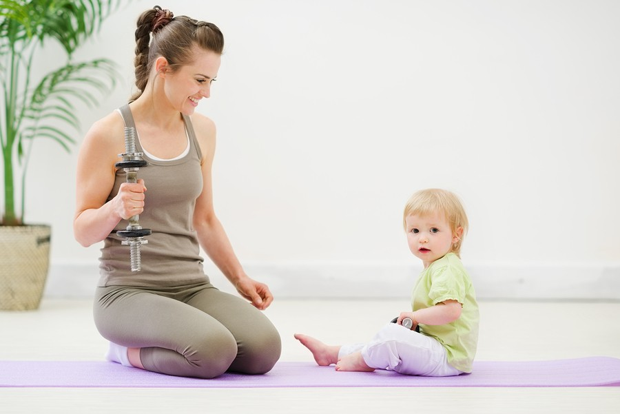 Getting Active When You Have a Baby or Toddler